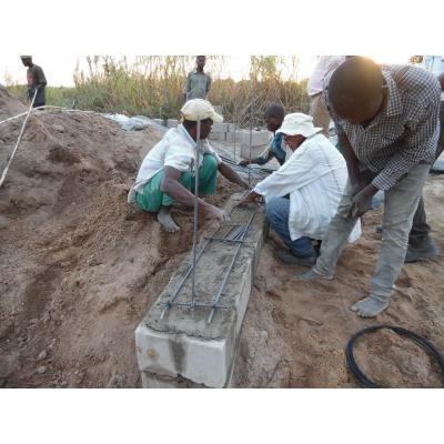 Construcción presa subterránea