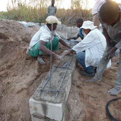 Construction of underground dam